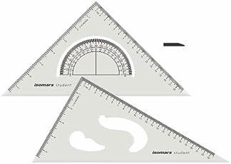 Isomars Set Squares Drafting Rulers