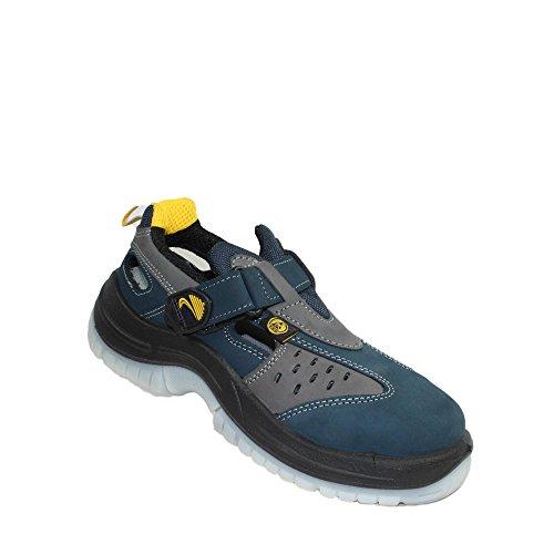X23 Lupos evo s1P sRC chaussures de travail chaussures berufsschuhe businessschuhe chaussures bleu Bleu - Bleu