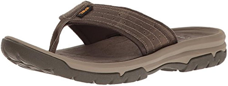 Teva Men's M Langdon Flip Sandal, Walnut, 43 D(M) EU/9 D(M) UK