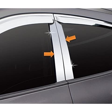Kia Ceed cromo B columnas PVC Tuning Set Accesorios