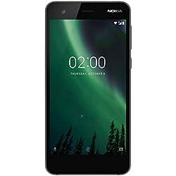 Nokia 2 Smartphone Dual SIM, 8 GB, Nero, [Italia]