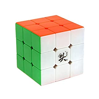 Topways® Dayan 5 zhanchi High Speedcube Ultimate 3x3x3 Zauberwürfel 57mm Magic Cube Zauber würfel (Bunt Nein Aufkleber 55mm)