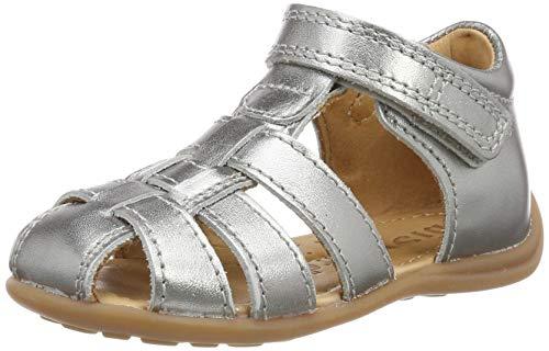 Silber Baby-mädchen (Bisgaard Baby Mädchen 71206.119 Sandalen, Silber (Silver 7008), 25 EU)
