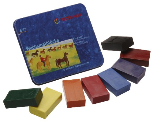 Stockmar Wax blocks with pure beeswax