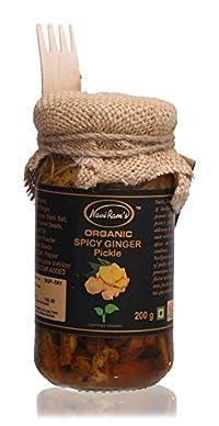 Navi Ram's Organic Spicy Ginger Pickle, 200 grams