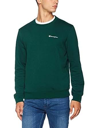 champion crewneck sweatshirt institutionals sweat shirt homme v tements et accessoires. Black Bedroom Furniture Sets. Home Design Ideas