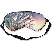 Sleep Eye Mask Sailing Ship Sea Lightweight Soft Blindfold Adjustable Head Strap Eyeshade Travel Eyepatch E4 preisvergleich bei billige-tabletten.eu