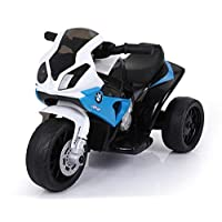 FACTUAL BMW RIDE ON MOTORCYCLE FOR KIDS, 6V BATTERY