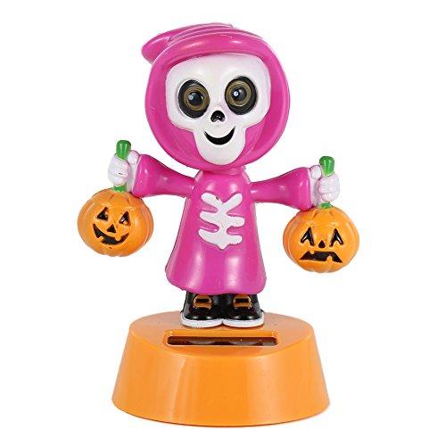 Varys Kostüm Halloween (Zantec Auto Deko, Solar Powered Automatische Schaukel Kopf Auto Innen Trim Vary Stil Tier Spielzeug Armaturenbrett Schreibtisch)