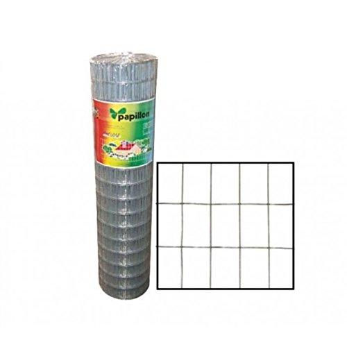 Rete elettrosaldata e zincata per recinzioni h 180 cm 25 mt.