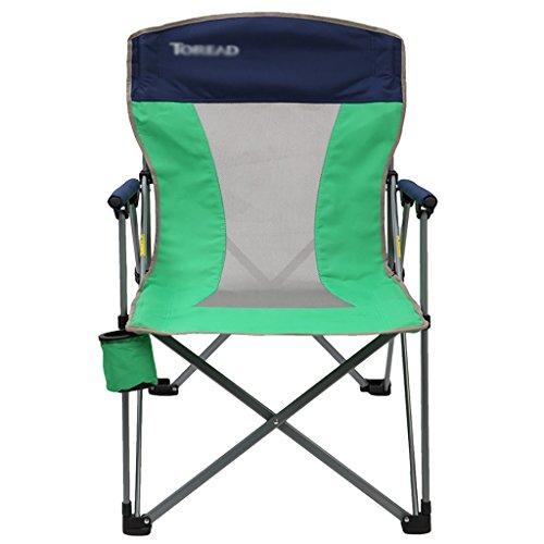 Y HWZDY Camping klappstuhl Klappstuhl im Freien, Fischen-Freizeit-Stuhl, Breathable Fester beweglicher Strand-Stuhl, (Farbe : Grün)