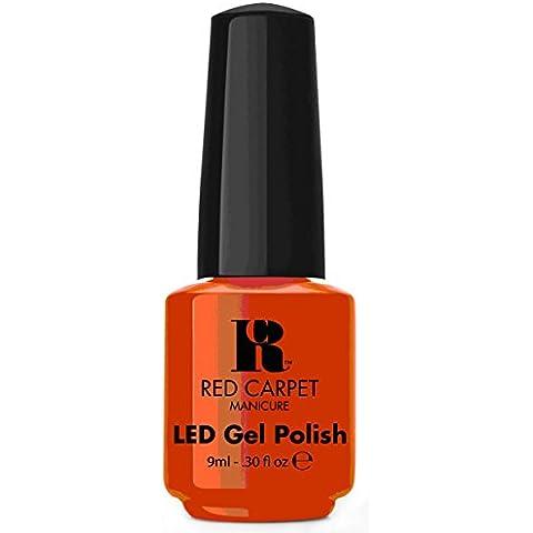Red Carpet Manicure-Smalto Gel, Tangerine On The