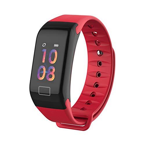 JDTECK Motorola Moto E5 Play Fitness Bracelet, Smartwatch Pedometer mit Bluetooth Sender, Fingerprint Unlock, Fitness Waterproof Tracker Kompatibel mit Ihrem Motorola Moto E5 Play