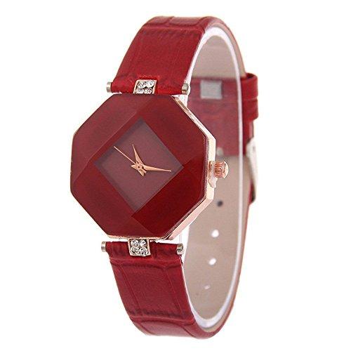 kezzi-ladies-fashion-hexagon-case-rhombus-dial-quartz-watch-with-rhinestone-decorative-leather-strap