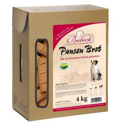Snack para perros Bubeck, pan, galleta, complementario, 4kg