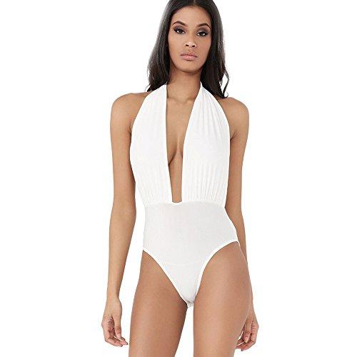 Honestyi Costume da Bagno Donna Intero Sexy Bikini Costumi Interi Beachwear dello Swimwear Imbottito da Spiaggia Mare e Piscina Push up Swimsuit