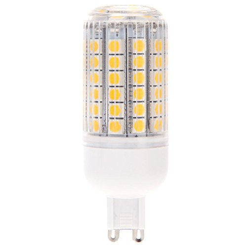 TOOGOO(R)G9 15W 5050 SMD 69 LED Luz de Maiz Lampara Ahorro de energia 360 Grados...