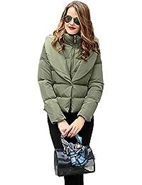 Queenshiny® Women Short Hooded Packable Down Coat