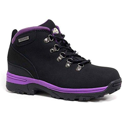 ladies-trek-leather-lightweight-waterproof-walking-hiking-trekking-boot-7-uk-black-purple