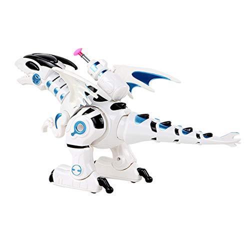 Jamicy Dinosaurier Elektronisches Spielzeug, Kinder Interaktives Gehen Dinosaurier, Glühen und Musik Spielen, Pädagogisches Spielzeug für Kinder