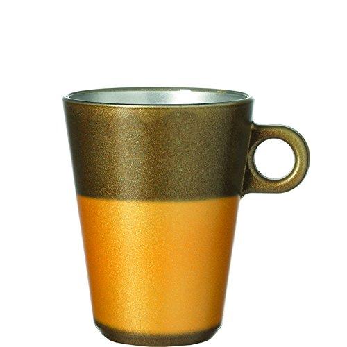 Leonardo Ooh. Magico Latte Maschine, Gold