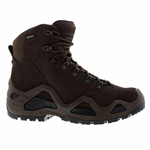 Lowa Mens Z-6S Gote-Tex Dark Brown Suede Boots 45 EU Gore-tex ® Duty Boot