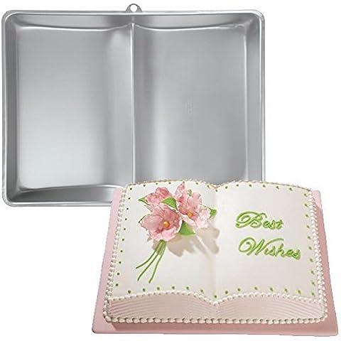 [Free Shipping] Baking Cake Mold Bakeware Aluminum Book Shape Cake Mold // Molde de pastel hornear utensilios para hornear de aluminio molde libro torta de by Bml