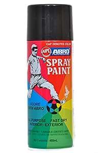 Abro ABS4 Color Spray Paint (400 ml, Matt Black)