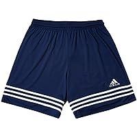 adidas Entrada 14, Pantaloncino Bambino, Multicolore (Navy/Bianco), 152