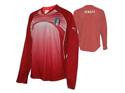 Puma Italia Entrenamiento LS té/Italia manga larga camiseta Azzurri Talla:xx-large