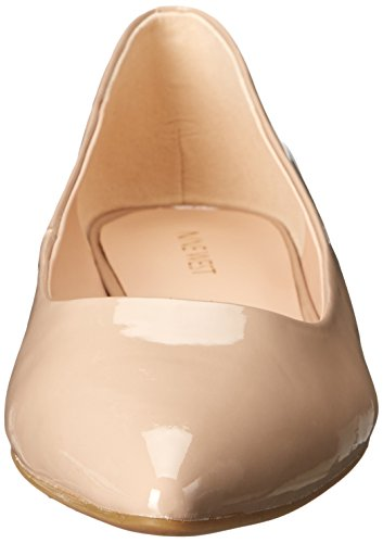 Nine West Onlee Toe Pointy synthétique plat Taupe