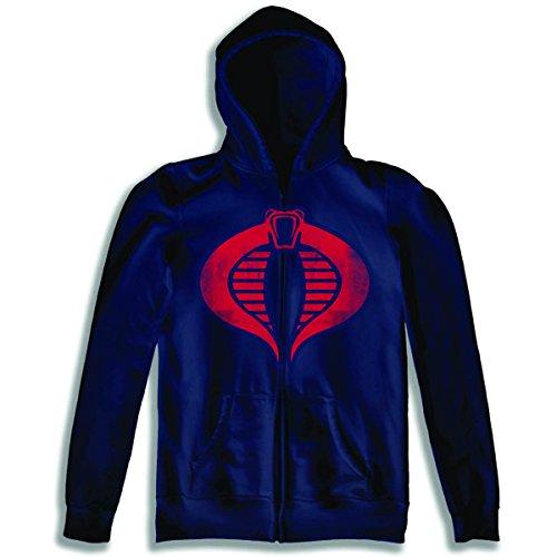 a Logo Zip Up Hoodie Sweatshirt | L ()