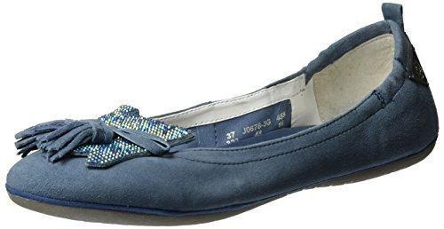 bugatti Damen J06783g Geschlossene Ballerinas Blau (jeans 455)