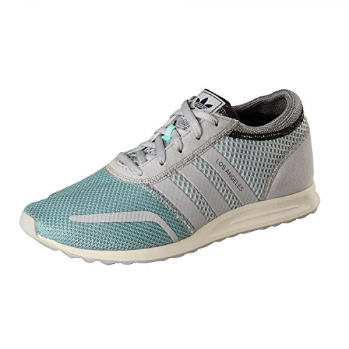 Adidas Los Angeles , Cool aqua-grey-mid grey Grau