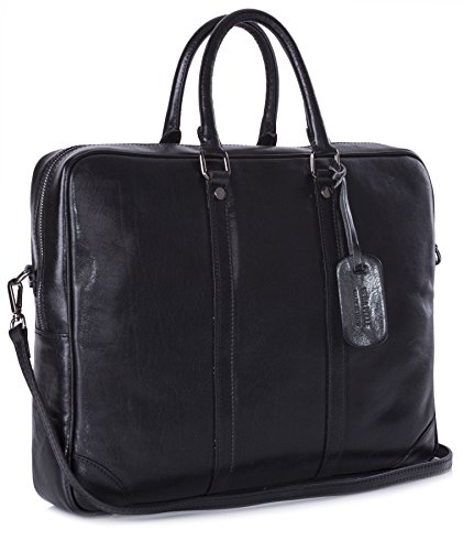 Big Handbag Shop , Sac à main pour homme noir