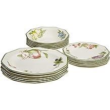80d855040820 Churchill 4969109 - Set di stoviglie, Linea: Victorian Orchard Churcil, 18  Pezzi,