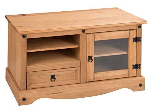 Mercers Furniture Corona Ecke Unterhaltung TV-Gerät, Holz, antiquität wachs, 106 x 44 x 58 cm -