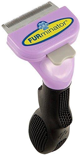 FURminator Fellpflege deShedding-Pflegewerkzeug für langhaarige kleine Katzen bis 4,5 kg, Größe S, 1 Tool