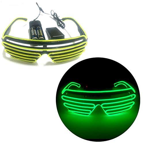 suxiaopei Halloween Haube Maske LED strahlende Maske V Wort Bar Nacht Feld Ghost Dance Fluoreszierende Tanz Requisiten 4