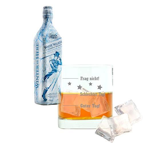 Set, Johnnie Walker White Walker, Limited Edition, Blended Scotch Whisky, Game of Thrones, Alkohol, Alkoholgetränk, Flasche, 41.7%, 700 ml, 746675, Geschenk zum Vatertag ()
