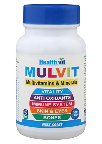 HealthVit A To Z Multivitamins and Minerals Tablets - 60 Tablets