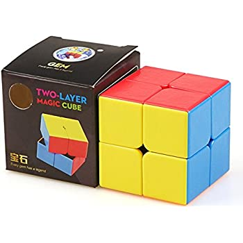 Dingze Moyu Mofang Classroom MF2C 2x2x2 Speed Puzzle Magic Cube nero