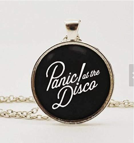 Rainbow Panic! At the Disco,Halskette oder Schlüsselanhänger mit Anhänger und Aufschrift