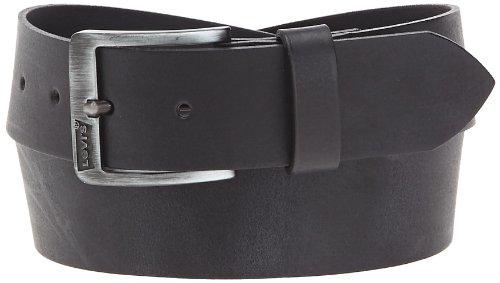 Levi's Herren Core Basic Classic Gürtel, Schwarz (Black), 105 cm (Herstellergröße: 105)