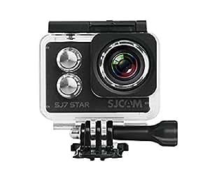SJCAM SJ7 STAR BLK 4K NATIV Actionkamera (16MP, Touchscreen, Sony Sensor, WLAN, HDMI, Wasserdicht) schwarz