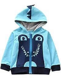 Algodón Abrigo para Niños,JiaMeng Animal de Dibujos Animados con Capucha Capa Capa Tops Ropa de Abrigo