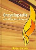 encyclop?die des difficult?s bibliques v1 pentateuque
