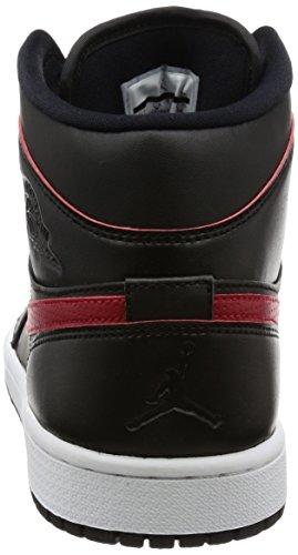 Nike Herren 554724-009 Turnschuhe Schwarz