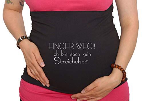 Bauchband Schwangerschaft Ich bin doch kein Streichelzoo
