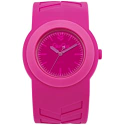 Gio-Goi Unisex 'Poppin' Interchangeable Analogue Watch GG1007P With Pink PU Strap